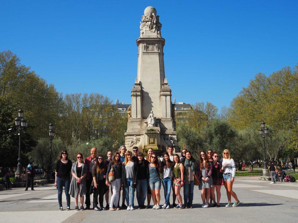 Madrid Cervantes-Denkmal